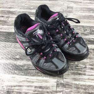 Skechers Shape-Ups Black Pink SRT Size 7 Women's